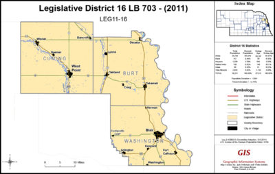 Nebraska Legislative District 16