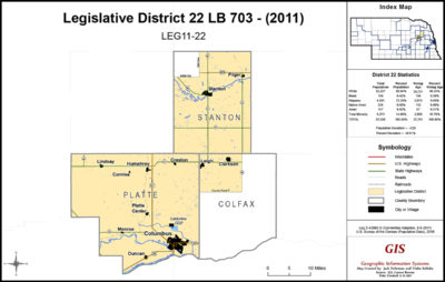 Nebraska Legislative District 22