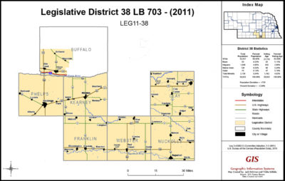 Nebraska Legislative District 38