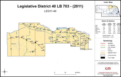Nebraska Legislative District 40