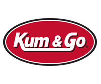 Logo for Zulkoski Weber Lobbying Client Kum and Go in Lincoln, NE