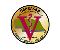 Logo for Zulkoski Weber Lobbying Client Nebraska Veterinary Medical Association in Lincoln, NE