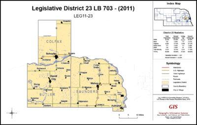 Nebraska Legislative District 23
